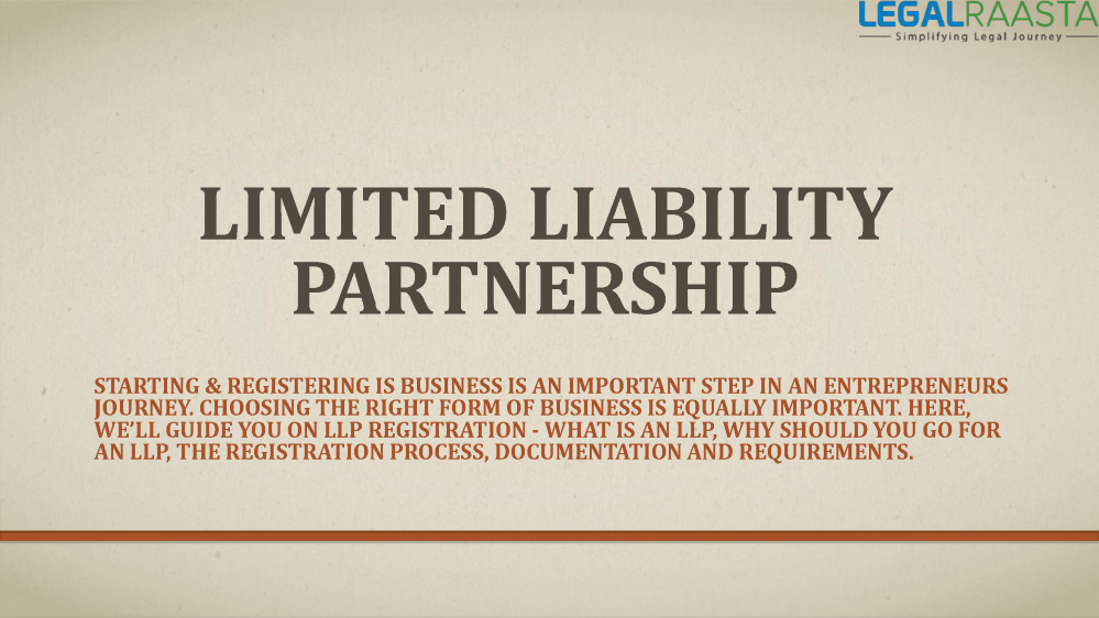 Limited Liability Partnership Vs. Limited Liability Company