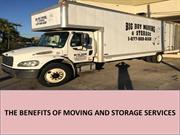 The Benefits of Moving and Storage Services