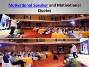 Motivational Speaker and Motivational Quotes