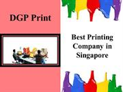 DGP Print- Printing Company in Singapore