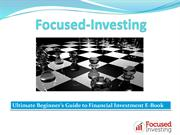 Investment Guidance from Thomas Barnard   Focus Investing