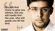 Top Inspirational Quotes by Harsh Malik - Scholar Talks