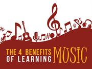 The 4 Benefits of Learning Music