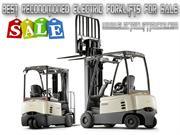 Best Reconditioned Electric Forklifts For Sale