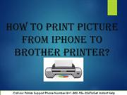 How to Print Pictures from iPhone to Brother Printer