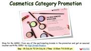 Cosmetics Category Promotion