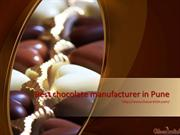 Get Best chocolate manufacturer in Pune