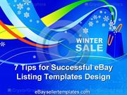 7 Tips for Successful eBay Listing Templates Design
