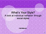 Personality Identification Models-3 of 6