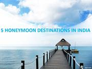 Honeymoon Packages - Thomas Cook India