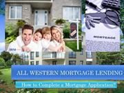 Are you applying for a mortgage loan? Read AWM Lending's easy Guide