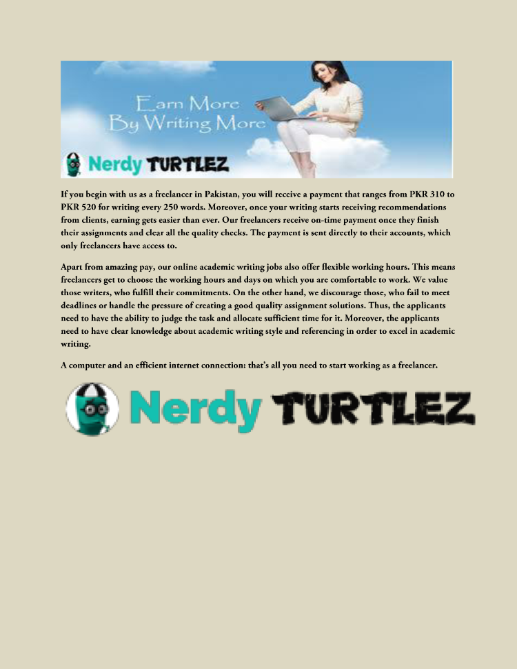 nerdyturtlez the largest provider of online academic writing jobs  nerdyturtlez the largest provider of online academic writing jobs in k
