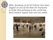 Birla Academy of Art & Culture - #1 Art Museum In India