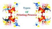 Types Of Printing Process