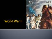 Hist 12 10 - World War II