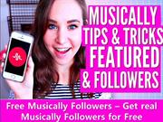 Free Musically Followers – How to Get Real Free Musically Followers