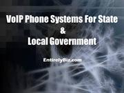 Phone Systems for State and Local Government