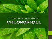10 Incredible Benefits Of Chlorophyll