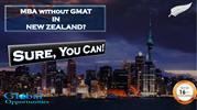 MBA without Gmat in NewZealand