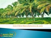 How to manufacturers coir fibre & uses