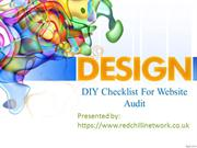 DIY Checklist For Website Audit