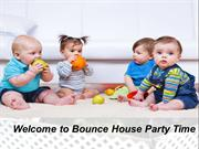 Bounce-House-Party-Time in Fl