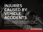 Injuries Caused by Vehicle Accidents