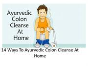 Ayurvedic Colon Cleanse At Home