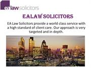 Solicitors In Central London - Ealaw Solicitors