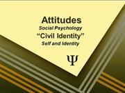 Civil Identity-Sociology 101-Self & Identity