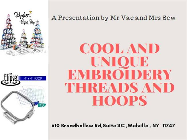 Cool And Unique Embroidery Threads And Embroidery Hoops Authorstream