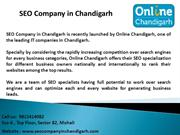 Stay on Top on Search Engines- SEO Companyin Chandigarh