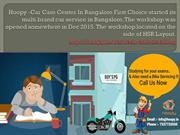 Hoopy -Car Care Center In Bangalore First