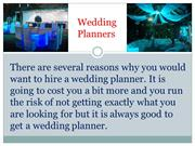 Things to Consider When you are looking for a Wedding Planner