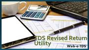 New utility for preparation of TDS correction statements