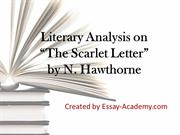 Literary Analysis on The Scarlet Letter