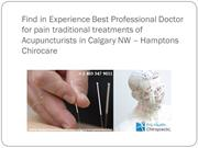 Find in Experience Best Professional Doctor for pain traditional