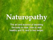 Old Naturopathic Saying