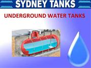 A Brief Synopsis of Underground Water Tanks
