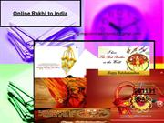 Send Nice Quality Rakhi Present for Brothers in India
