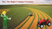How to buy agricultural compact tractor