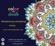 Mandalas Coloring Pages, Adult Coloring Pages, Coloring Book