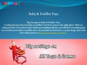 BABY & TODDLER TOYS PPT