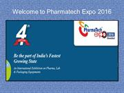 Welcome to Pharmatech Expo 2016