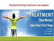 Residential Drug Treatment Los Angeles