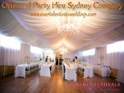 Offers of Party Hire Sydney Company