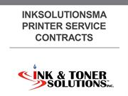 Inksolutionsma Printer Service Contracts