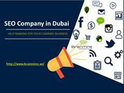 SEO Company in Dubai help ranking for your company business