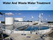 Water And Waste Water Treatment