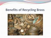 Benefits of Recycling Brass